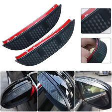 Car Rear View Mirror Rainproof Cover Shade 3D Design For Ford Focus 2012-2016