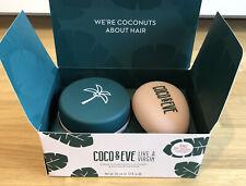 Coco & Eve Like a Virgin Haarpflege-Set mit Haarmaske 212ml und Haarbürste *NEU*