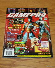 Collector Issue - GAMEPRO Magazine Issue 92 Vol 8 #05 May 1996 Killer Instinct 2
