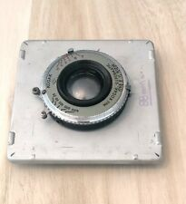Bausch & Lomb 88mm F/6.8 4x5 Lens w/ Kodak Supermatic No.1 Shutter