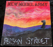 """45rpm 12"""" Single NEW MODEL ARMY Poinson Street/Courage"""