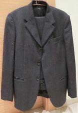 Vestito Completo Uomo Giacca Pantaloni 100% Lana Sisley Invernale Grigio