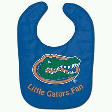 "FLORIDA GATORS BABY BIB ""Little Gators Fan"" FREE SHIPPING"