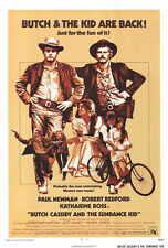 Butch Cassidy And The Sundance Kid Movie Poster 27x40 B Paul Newman Robert
