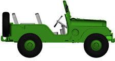 "Jeep Universal "" Military "" Von arwico, H0 Car Model 1:87, Brekina 58901"