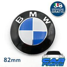 posteriore cofano portellone 2x BMW stemmi 82mm 74mm coppia loghi anteriore