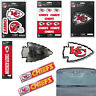 NFL Kansas City Chiefs Premium Vinyl Decal / Sticker / Emblem - Pick Your Pack