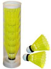 6 x Pros Pro Badmintonbälle; Nylonbälle; Federbälle; Nylon-Ball; Feder-Bälle Box