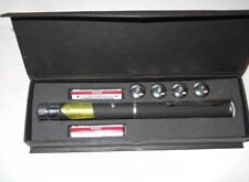 NEW NIGHTLIFE RED Laser Pointer PenW/5 TIPS Light 5mW Laser High Power 532nm