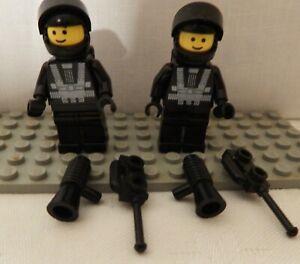 LEGO MINIFIGURES VINTAGE SPACE 2 x BLACKTRON 1