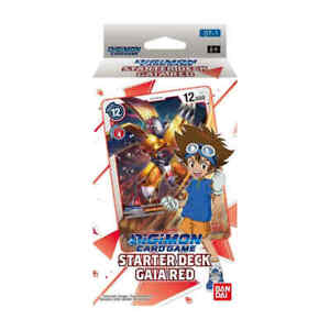 Bandai Digimon Gaia Red Starter Deck Sealed ENGLISH NEW IN STOCK