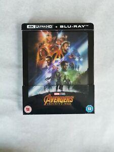 Avengers: Infinity War 4K Ultra HD -Steelbook lenticulaire Exclusif  Zavvi