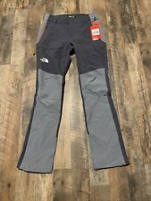 New! $169 North Face Impender Softshell Climbing Pants Nf0A3O8H7Ar Men's 30 X 32