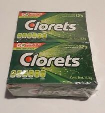 Clorets Breath Freshening Gum One Box - 12 packs - 12 Piece of Gum