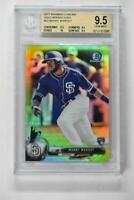 2017 Bowman Chrome Gold Refractors #53 Manny Margot /50 BGS 9.5 Rookie RC