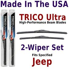 Buy American: TRICO Ultra 2-Wiper Blade Set fits listed Jeep: 13-22-20