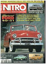 NITRO n°194 Spécial FORD '49-51/MERCURY MONTEREY'63/FIREBIRD/BUICK RIVIERA'71