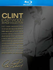 Clint Eastwood 20-Film Collection Blu-ray 22-Disc Set  With Book 2013 NEW