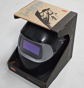 NEW 3M™ Speedglas™ 100 Black Welding Helmet with Auto-Darkening Filter 100V