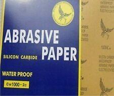 10 Stück Schleifpapier Bögen 230x280 in P1500 Wasserfest Wasserschleifpapier