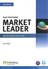 MARKET LEADER 3rd Ed UPPER INTERMEDIATE Business English PRACTICE FILE w CD @New