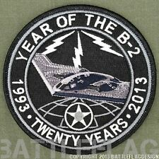 YEAR OF THE B-2 20TH ANNV PATCH UNOFFICIAL, 509TH BOMB WING WHITEMAN AFB USAF