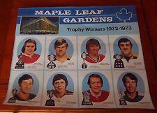 Export A calendar photo trophy winners bobby orr / ken dryden  1971-72
