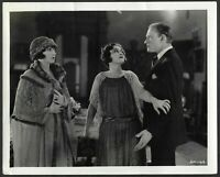 Laurel and Hardy Foil Mae Busch 1924 Original Silent Film Photo Conrad Nagel