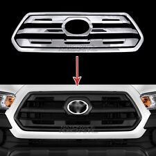 fits 16-18 Toyota Tacoma SR CHROME Snap On Grille Overlay Front Grill Trim Cover