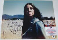 BLOWOUT SALE! Alanis Morissette Signed Autographed 11x14 Photo GAI GA GV COA!