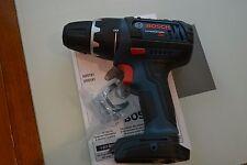 """New 18v Bosch DDS181 Cordless 1/2"""" Drill Driver use 18 volt BAT609 BAT620 BAT612"""