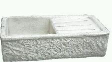 lavandino lavabo lavello rustico pietra cemento marmo con gocciolatoio esterno