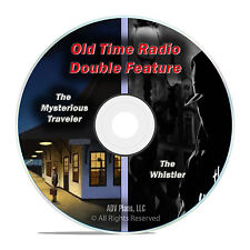 Mysterious Traveler & The Whistler, ALL 601 Episodes, Old Time Radio MP3 DVD F62