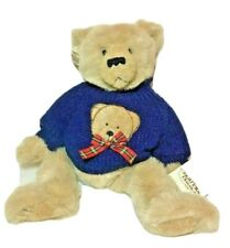 Ganz Heritage Collection H2870/Chandler Jointed Bear Blue Sweater Nwt