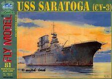 Gomix FLY 081 - Porte-avions de l'Uni States Marine USS Saratoga CV-3 1:200