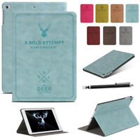 Leather Magnet Smart Cover Auto Sleep/Wake Case Skin For Apple New iPad 2018 9.7