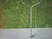 5 Stück Straßenlampen Peitschenlampen 2 flammig mit LEDs für 12-18 V  Höhe 11 cm