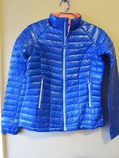 Womens New Mountain Hardwear Ghost Whisperer Down Jacket Sz S Bright Island Blue