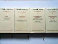HEINRICH HEINE: SÄMTLICHE WERKE - (Gebundene Bücher - Dümmdruck-Ausgabe)