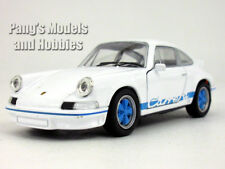 4.5 inch 1973 Porsche 911 Carrera RS Scale Diecast Model by Welly - Blue