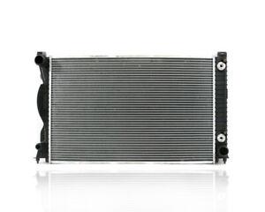 Radiator Fit 05-11 Audi A6/S6 3.2L 09-11 3.0L Plastic Tank Aluminum Core