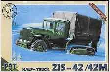 Soviet Half-Truck ZIS-42/42M 1/72 PST 72032 (free shipping)