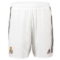 Real Madrid adidas Men's 2019-20 Home Authentic Football Shorts with Numbers New