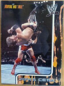 2002 WWE Wrestling Fleer Royal Rumble John Cena RC. Rare Pull!