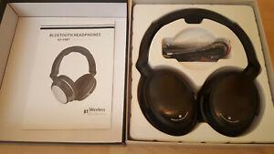 V8BT Bluetooth 4.0 Foldable Headphones (black)