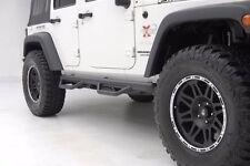 N-FAB Smittybilt Cleated Nerf Steps for 07-17 Jeep Wrangler JK 4 Door, J0764