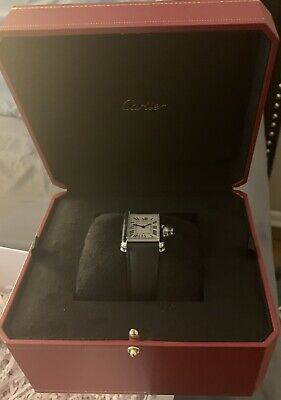 Cartier Tank Silver Men's Watch - WSTA0018