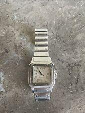 Authentic Cartier Santos watch