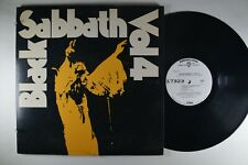 BLACK SABBATH Vol. 4 ROCK LP OZZY  WHITE LABEL PROMO