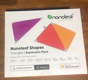 NANOLEAF Shapes Triangles Multicolor Light Panels Expansion Kit - 3 Pack